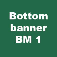 bottom banner bm 6